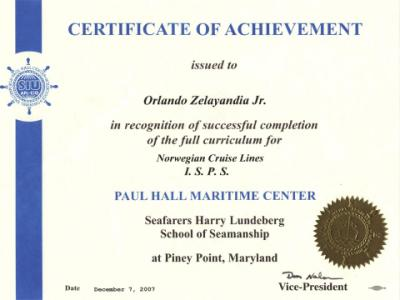 how to get stcw 95 certification